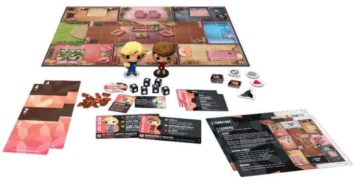 Golden Girls Funkoverse Board Game 2 Character Expandalone *French Version*