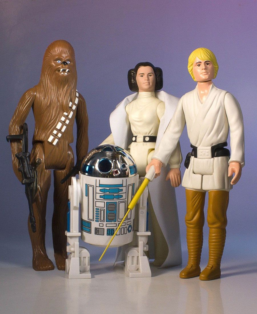 Star Wars Jumbo Kenner Action Figures 4 Pack Early Bird Set 30 cm