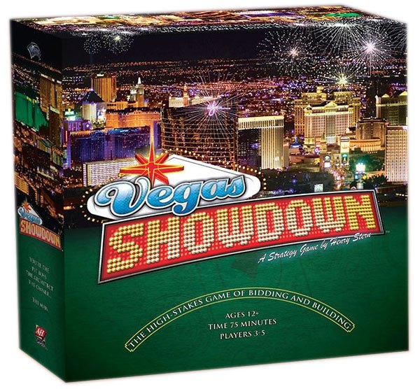 Avalon Hill Board Game Vegas Showdown english
