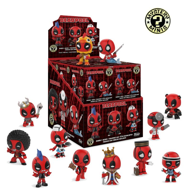 Marvel Comics Mystery Mini Figures 5 cm Display Deadpool (12)