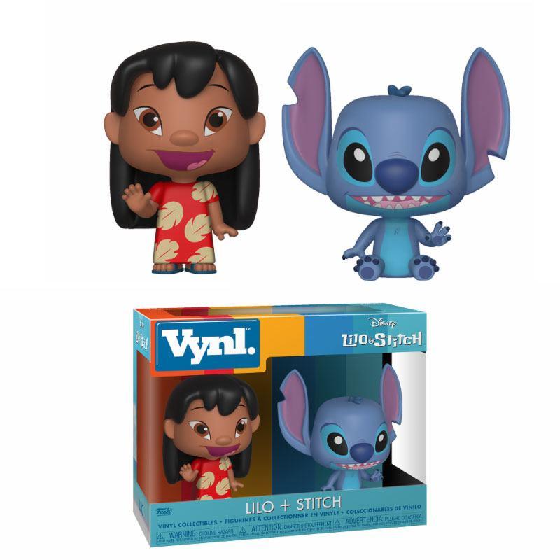Lilo & Stitch VYNL Vinyl Figures 2-Pack Lilo & Stitch 10 cm
