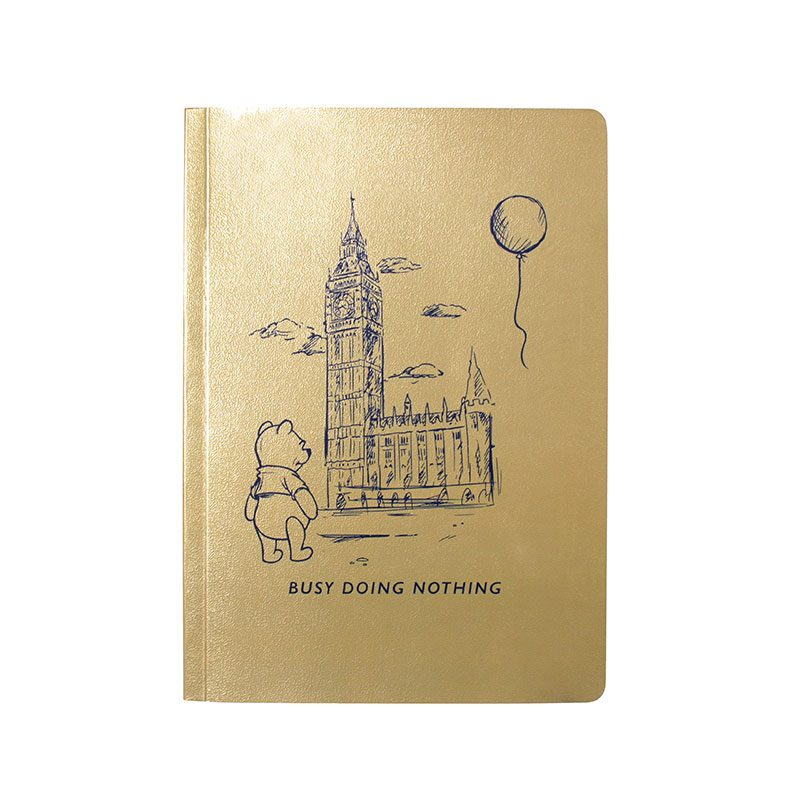 Winnie the Pooh A5 Notebook Busy Doing Nothing