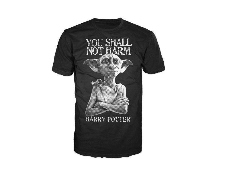 Harry Potter T-Shirt You Shall Not Harm Size L
