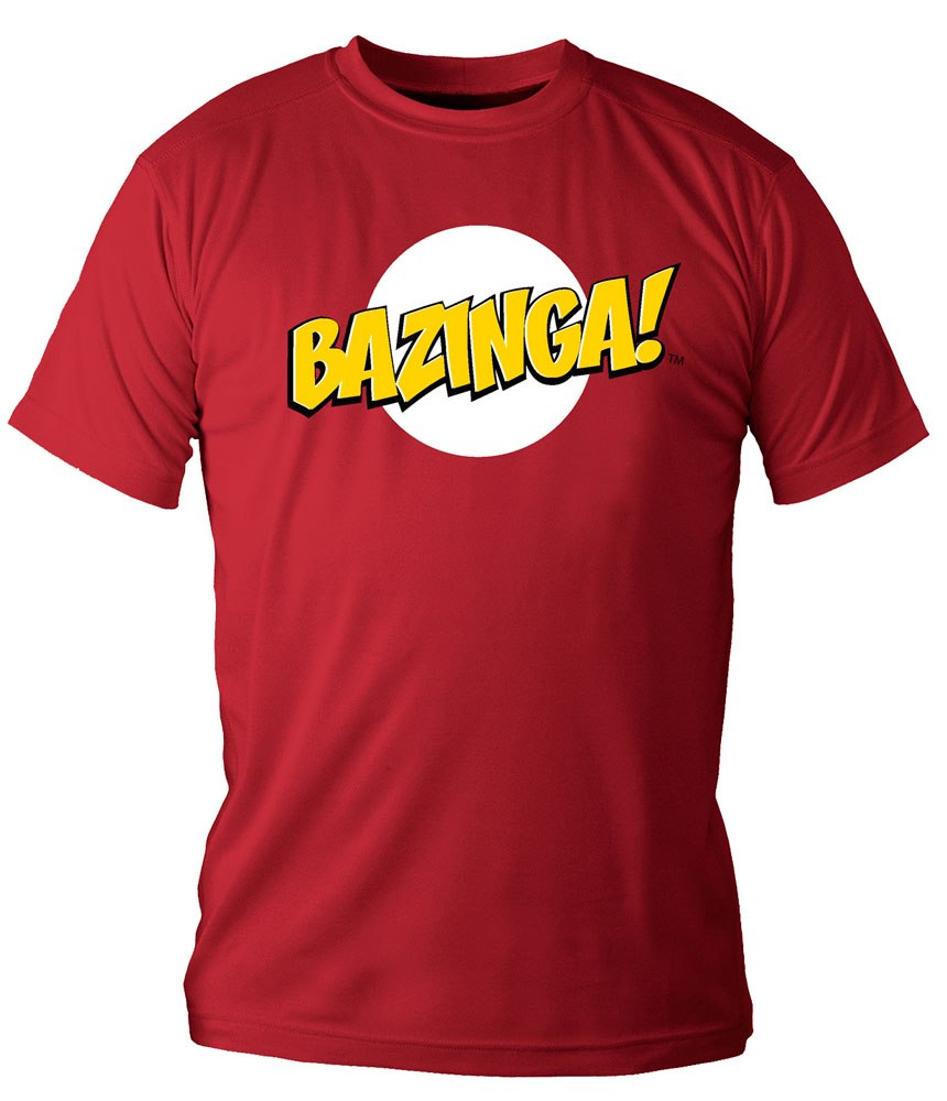 The Big Bang Theory T-Shirt Logo Bazinga Size L