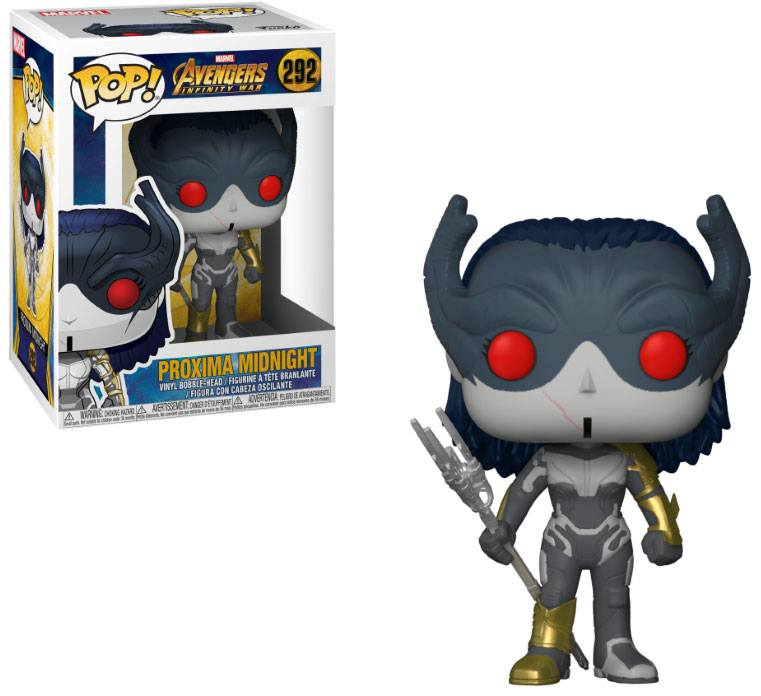 Avengers Infinity War POP! Movies Vinyl Figure Proxima Midnight 9 cm