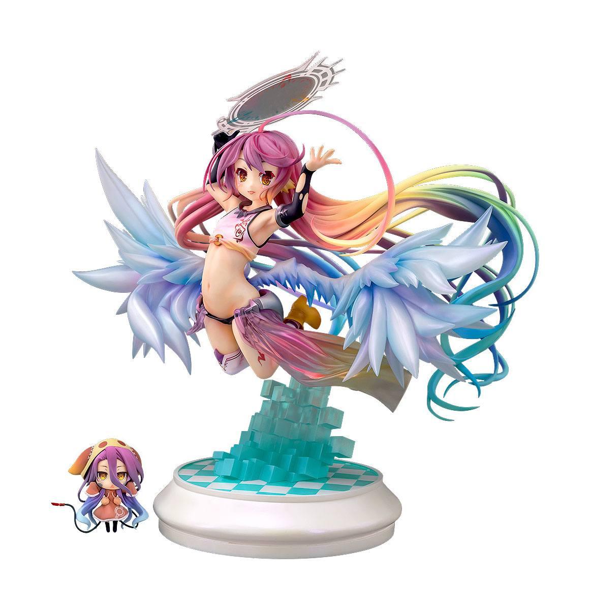 No Game No Life Zero PVC Statue 1/7 Jibril: Little Flügel Ver. 25 cm