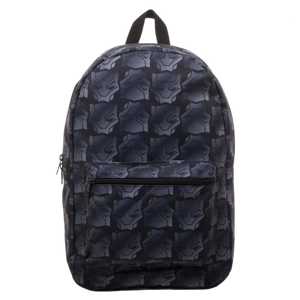 Black Panther Backpack Logo Sublimated