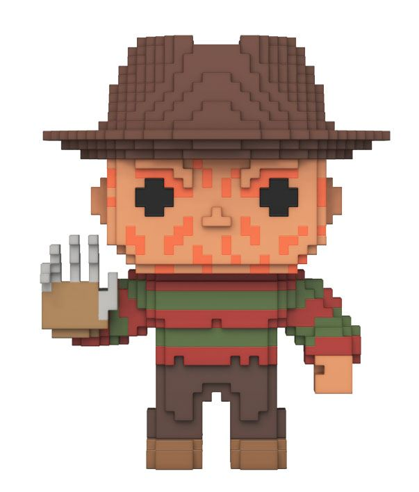 Nightmare On Elm Street POP! 8-Bit Horror Vinyl Figure Freddy Krueger 9 cm