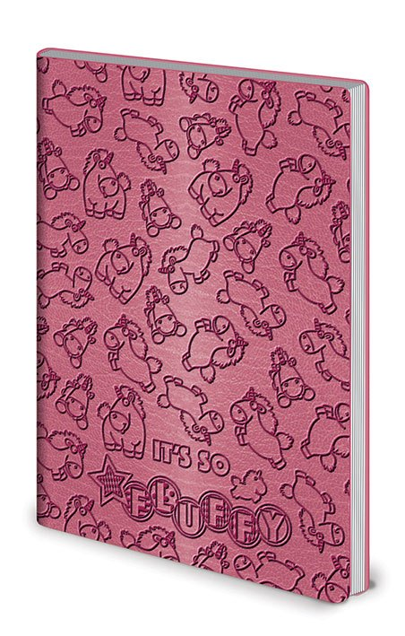 Despicable Me Flexi-Cover Notebook A5 It's So Fluffy