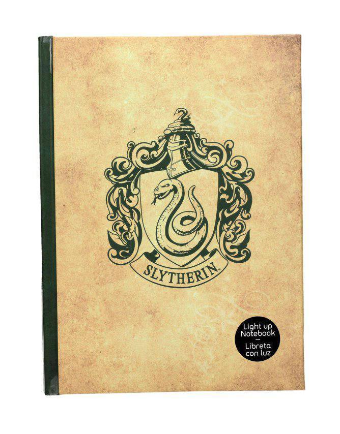 Harry Potter Notebook with Light Slytherin
