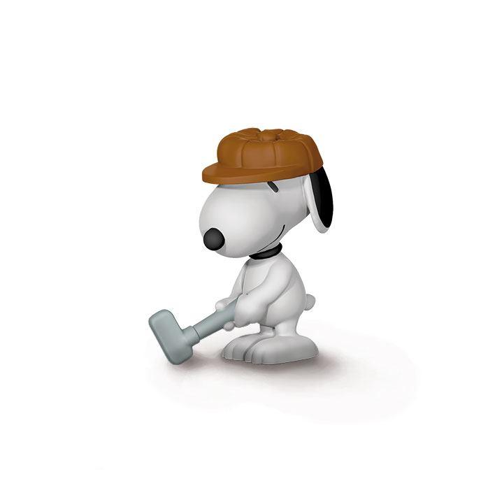 Peanuts Figure Golfer Snoopy 6 cm
