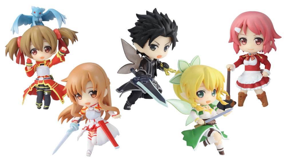 Sword Art Online PVC Mini Figures 9 cm Assortment Niitengo DX (6)