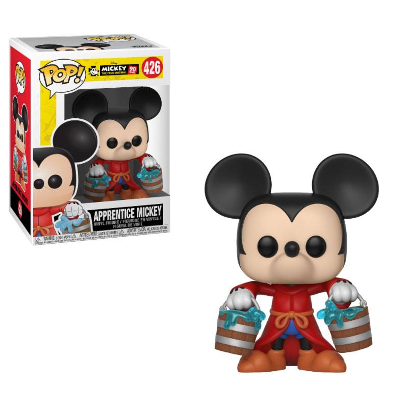 Mickey Maus 90th Anniversary POP! Disney Vinyl Figure Apprentice Mickey 9 cm