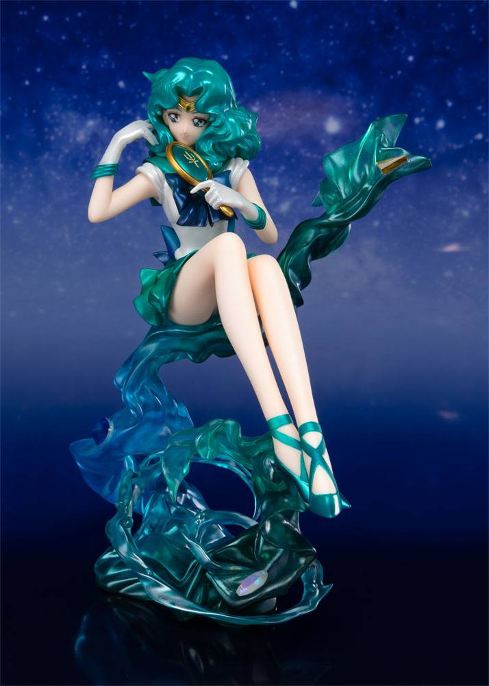 Sailor Moon FiguartsZERO Chouette PVC Statue Sailor Neptune Tamashii Web Exclusive 16 cm
