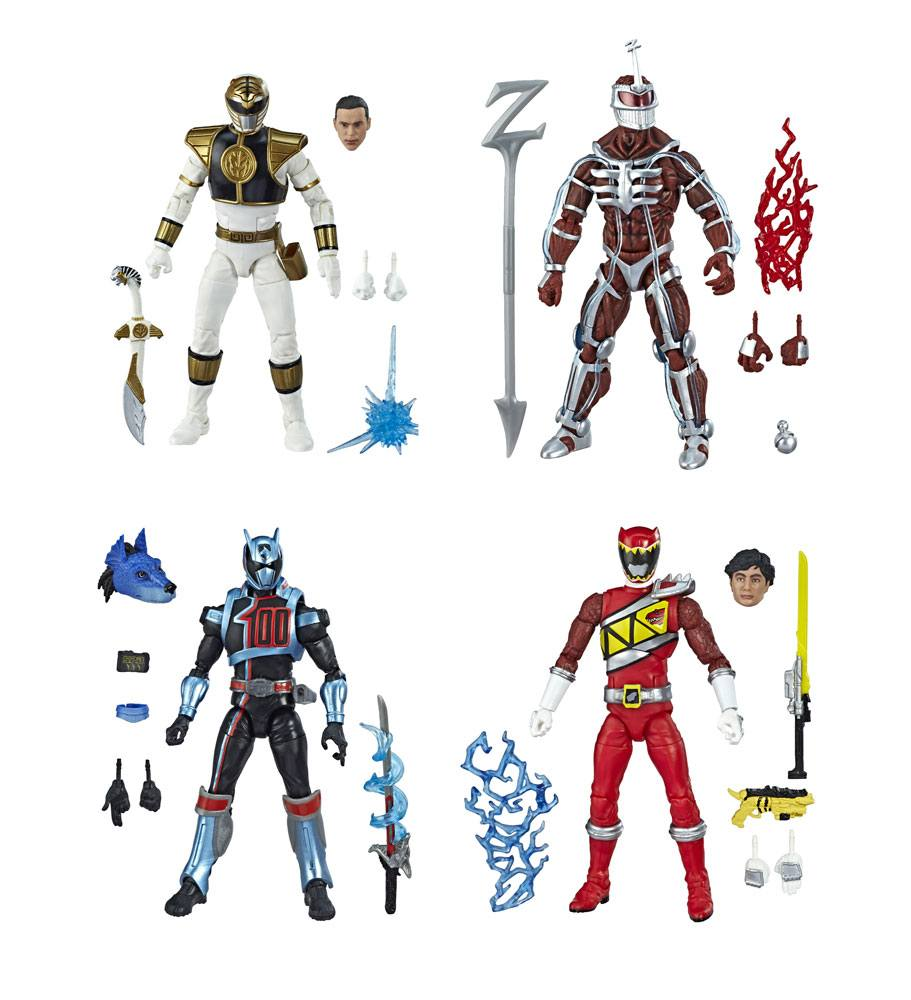 Power Rangers Lightning Collection Action Figures 15 cm 2019 Wave 1 Assortment (8)