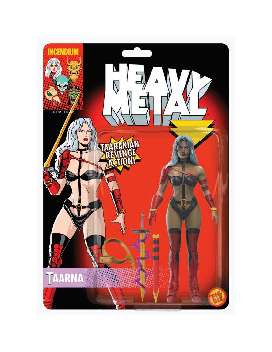 Heavy Metal FigBiz Action Figure Taarna 13 cm