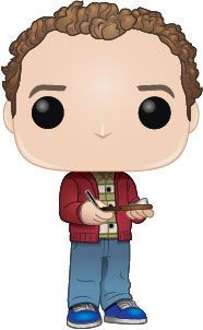 The Big Bang Theory POP! TV Vinyl Figure Stuart 9 cm