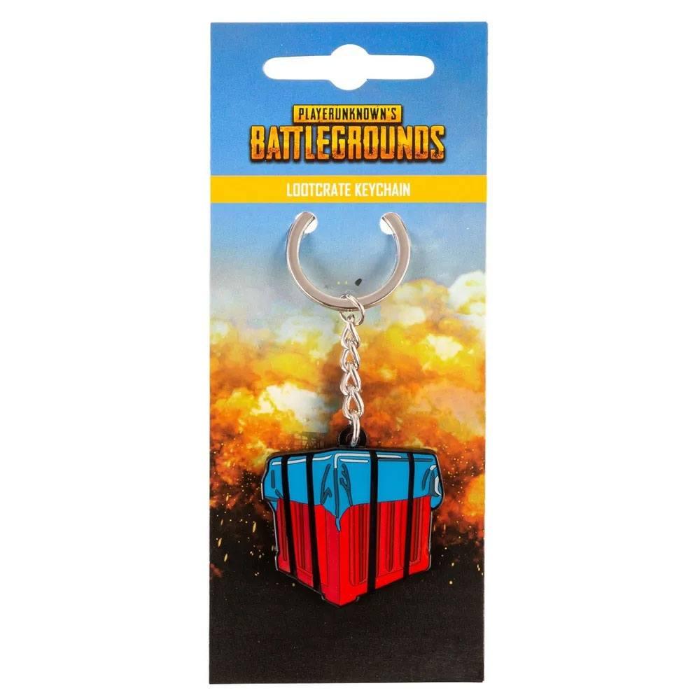 Playerunknown's Battlegrounds Metal Keychain Loot Crate