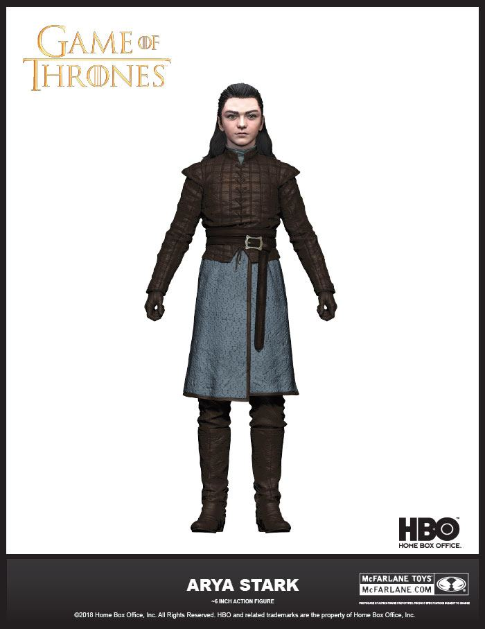 Game of Thrones Action Figure Arya Stark 15 cm