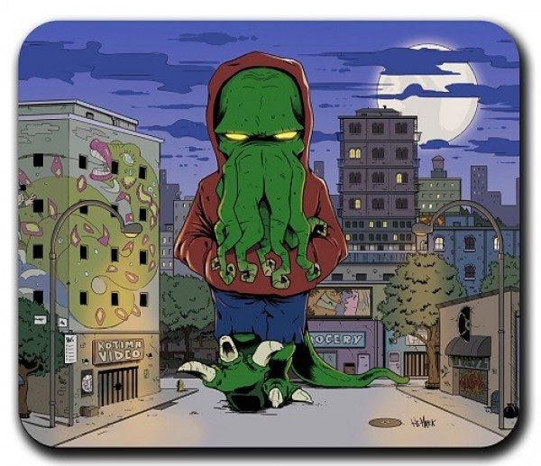 Cthulhu Mousepad Street Boss Cthulhu 20 x 25 cm