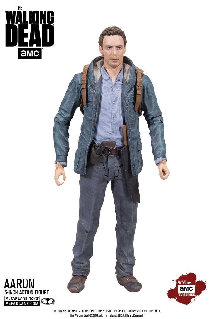The Walking Dead TV Version Action Figure Aaron Exclusive 13 cm