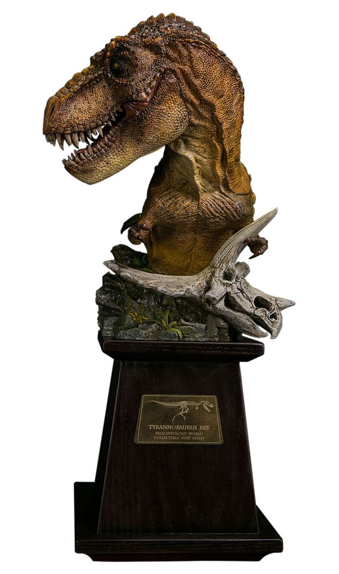 Paleontology World Museum Collection Series Bust Tyrannosaurus Rex Red Ver. 40 cm