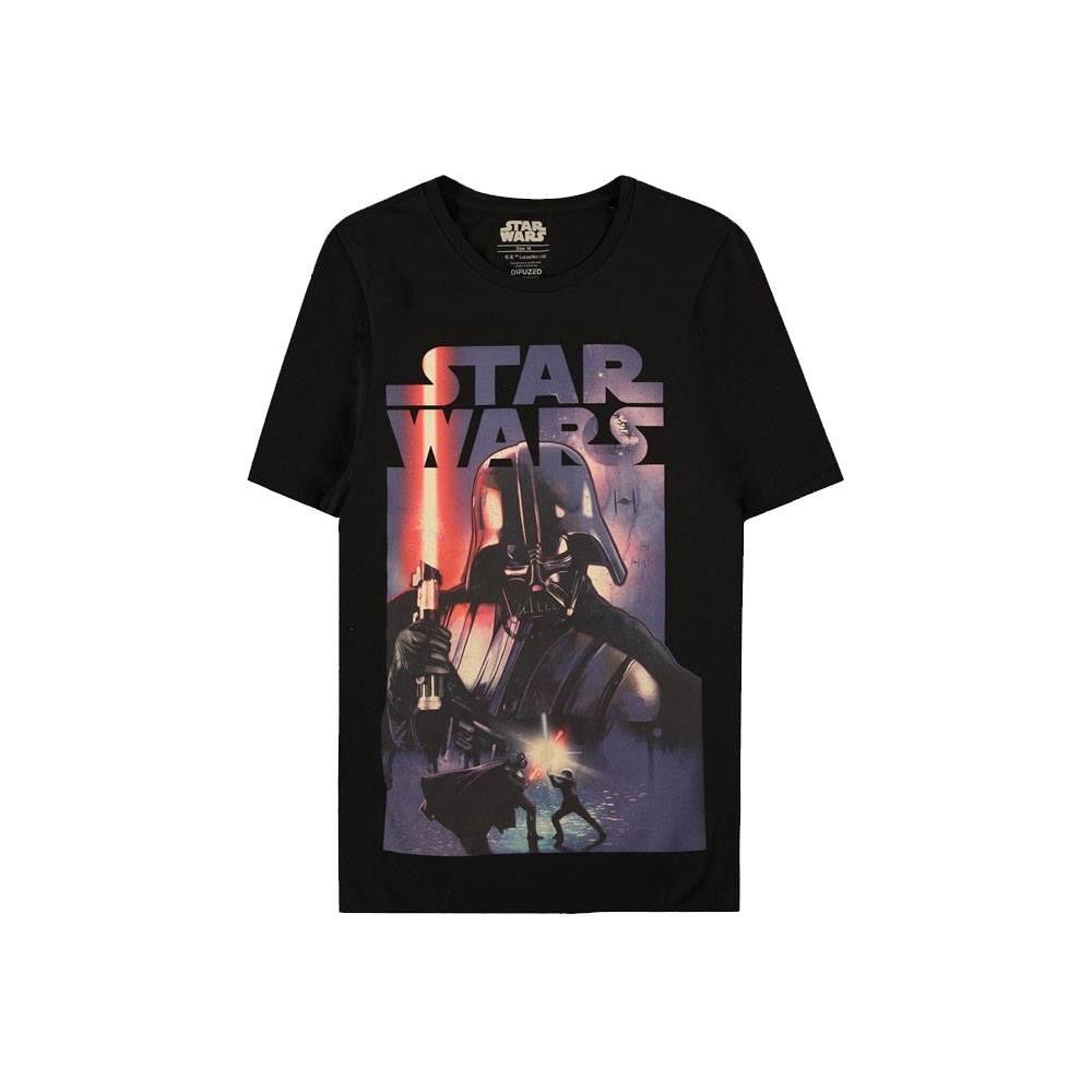 Star Wars T-Shirt Darth Vader Poster Size S