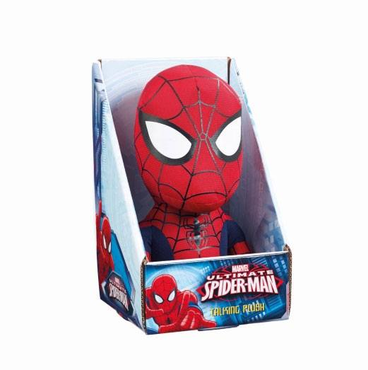 Marvel Talking Plush Figure Spider-Man 23 cm *English Version*