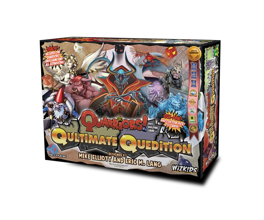 WizKids Board Game Quarriors Qultimate Quedition *English Version*