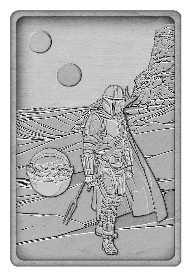Star Wars: The Mandalorian Iconic Scene Collection Limited Edition Ingot The Mandalorian