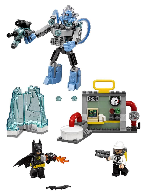The LEGO® Batman Movie™ Mr. Freeze™ Ice Attack