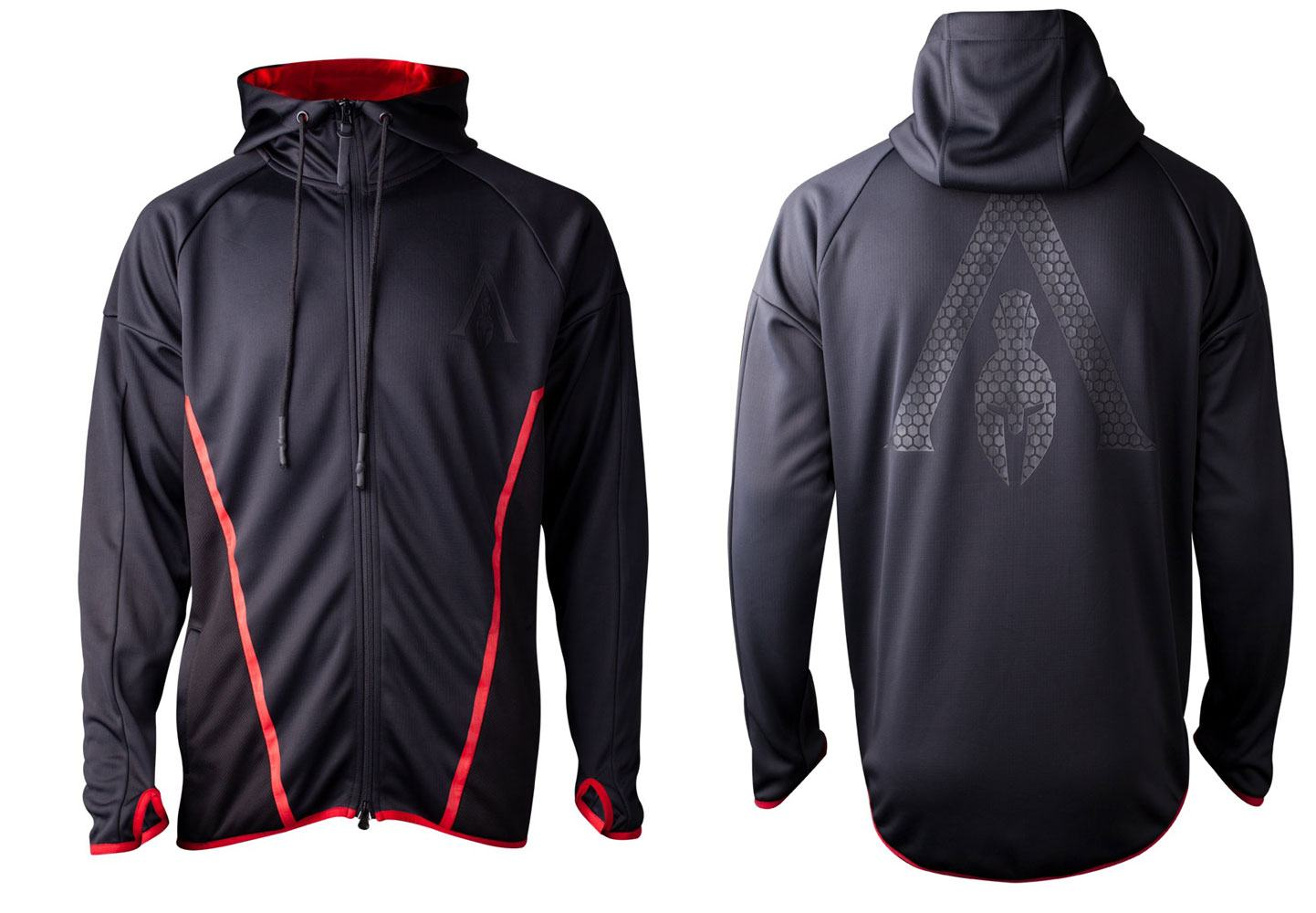 Assassin's Creed Odyssey Hoodie Technical Hexagon Size L