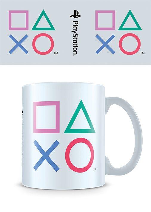 Sony PlayStation Mug Shapes