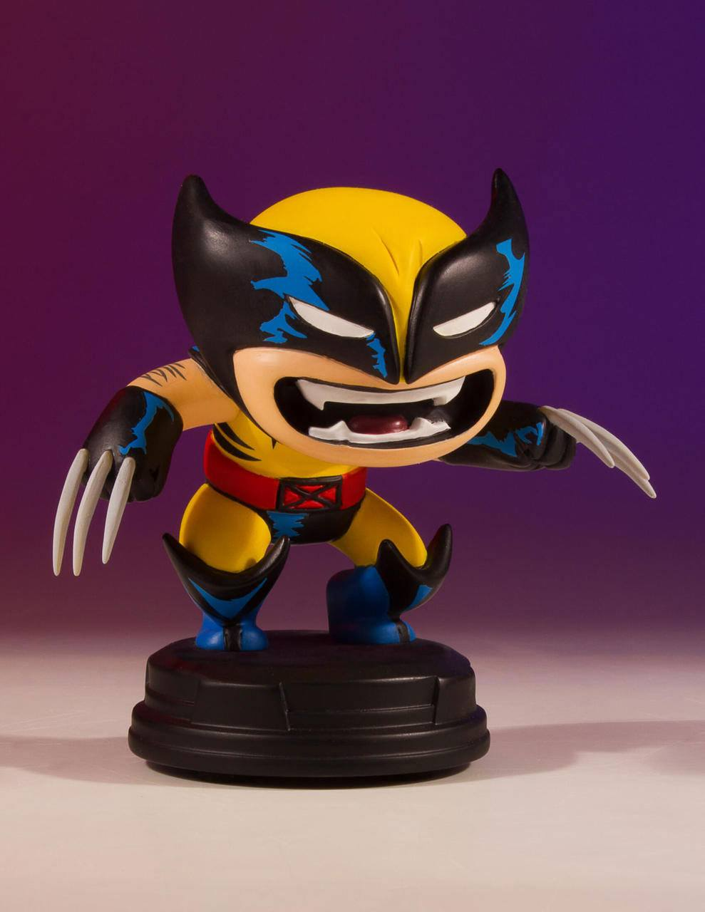 Marvel Comics Animated Series Mini-Statue Wolverine 10 cm