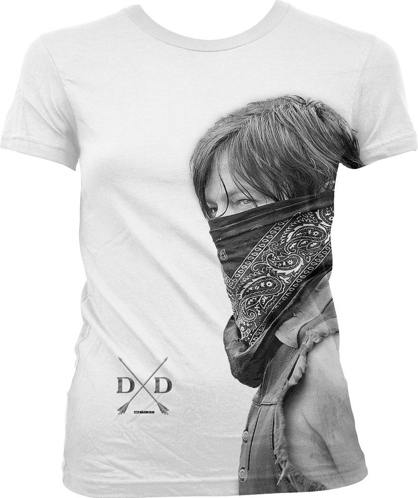 Walking Dead Sublimation Ladies T-Shirt Daryl Size S