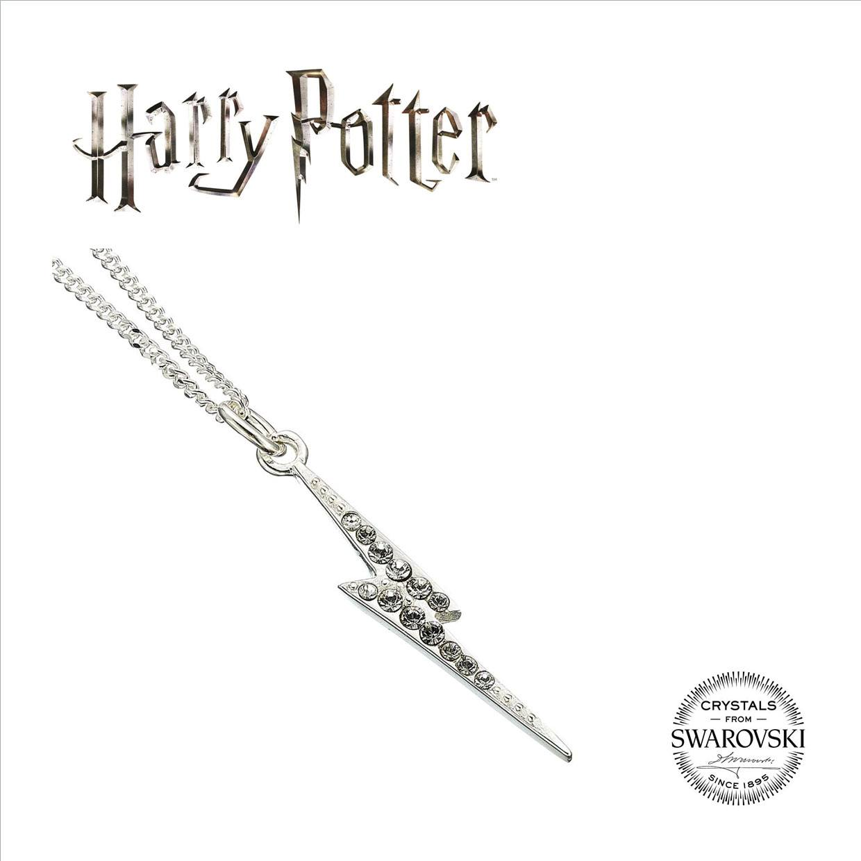 Harry Potter x Swarovksi Necklace & Charm Lightning Bolt