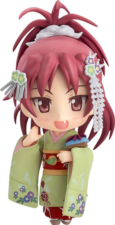 Puella Magi Madoka Magica The Movie Nendoroid Action Figure Kyouko Sakura Maiko Ver. 10 cm