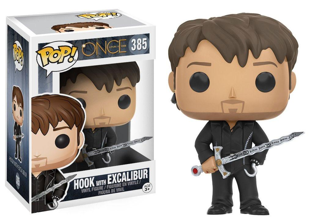 Once Upon a Time POP! Television Vinyl Figure Hook with Excalibur 9 cm