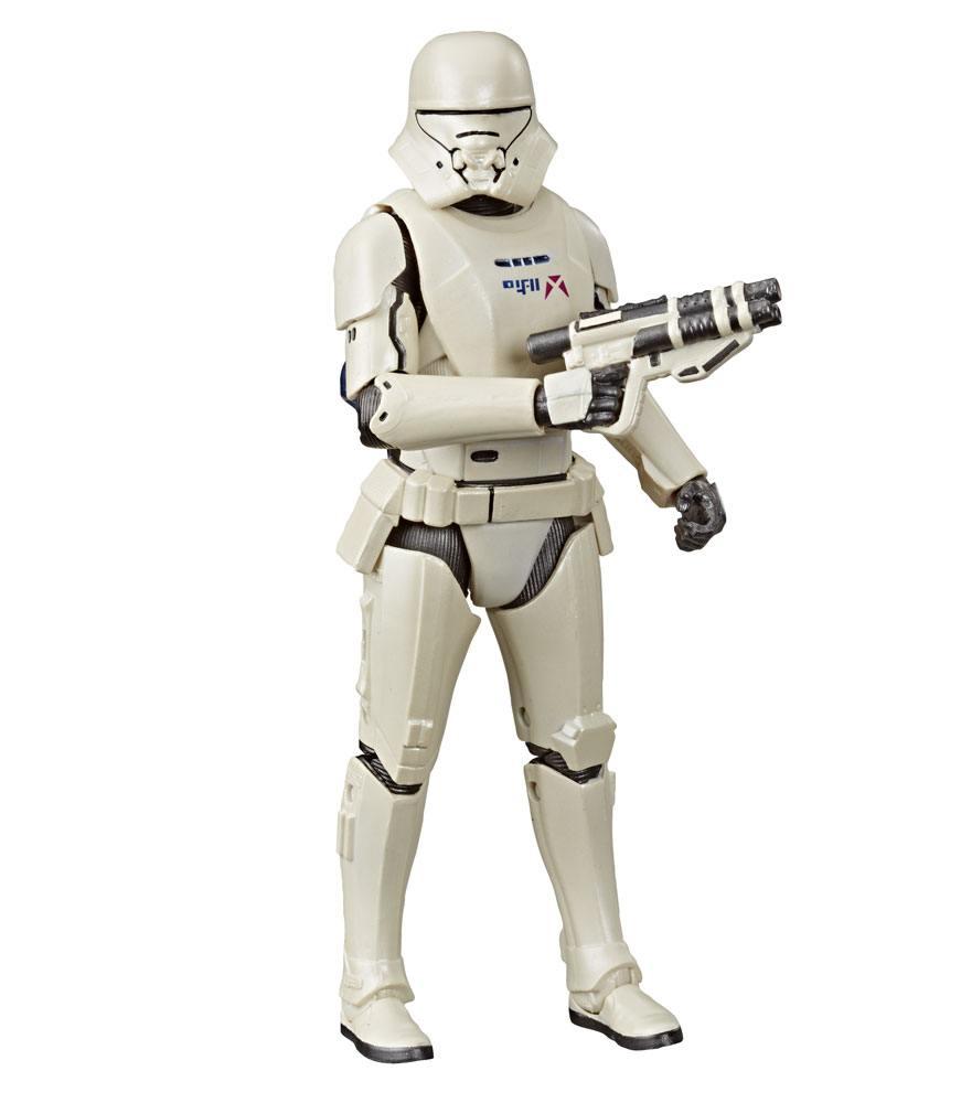 Star Wars Episode IX Black Series Carbonized Action Figure First Order Jet Trooper 15 cm --- DAMAGED PACKAGING