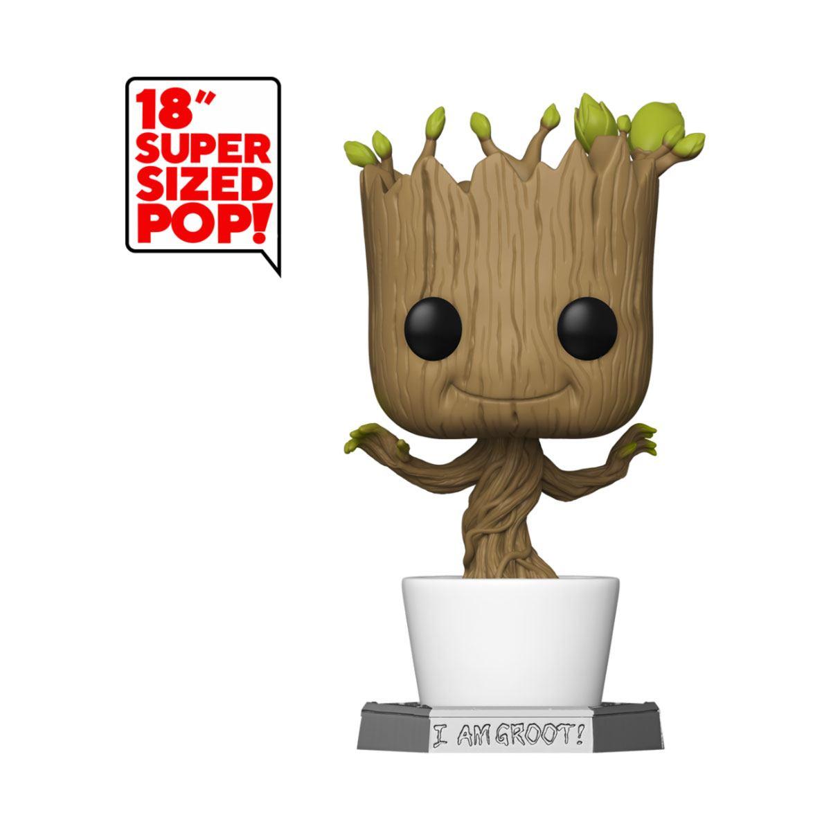 Guardians of the Galaxy Super Sized POP! Marvel Vinyl Figure Dancing Groot 46 cm