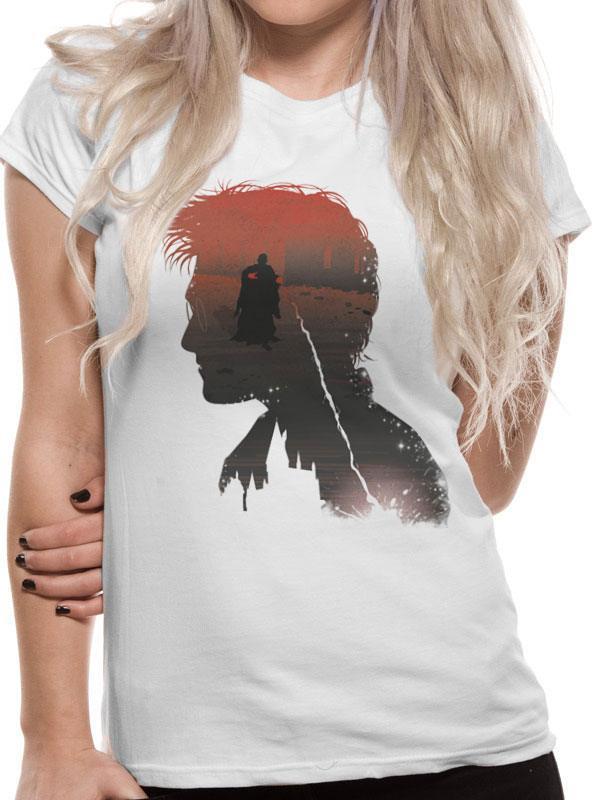 Harry Potter Ladies T-Shirt Battle Silhouette Size M