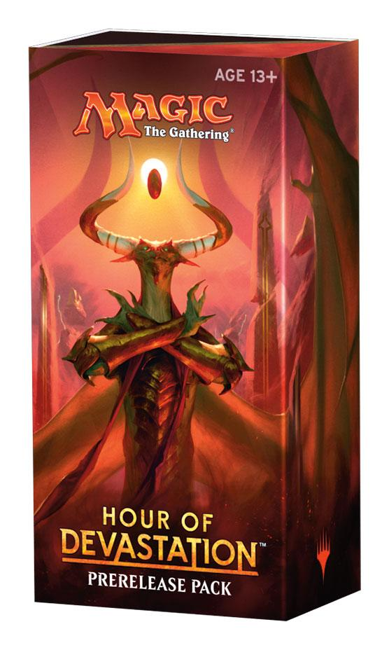 Magic the Gathering Hour of Devastation Prerelease Pack english