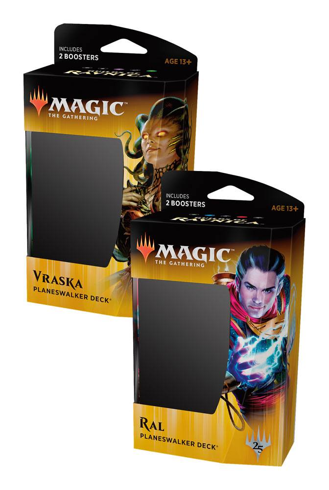 Magic the Gathering Guilds of Ravnica Planeswalker Decks Display (6) english