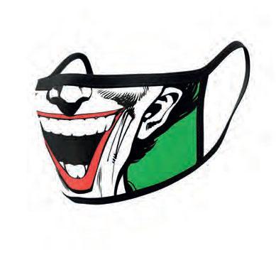 DC Comics Face Masks 2-Pack Joker Face