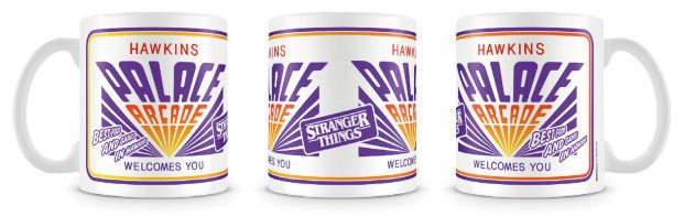 Stranger Things Mug Palace Arcade