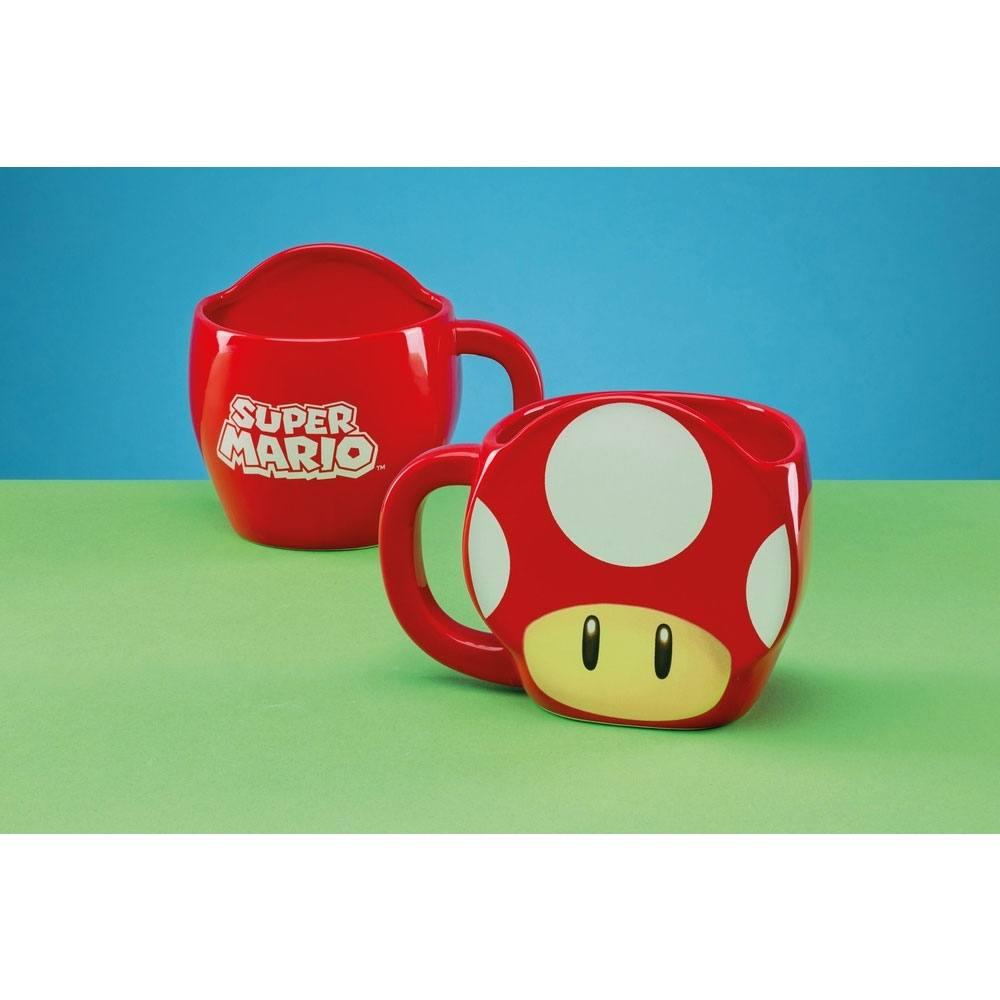 Super Mario Mug Power-Up Mushroom
