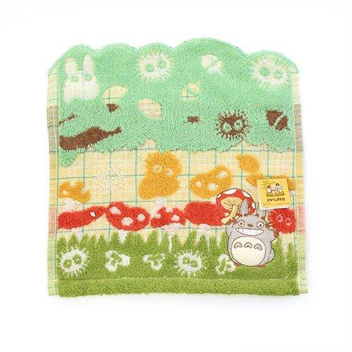 My Neighbor Totoro Mini Towel Totoro Grass 25 x 25 cm