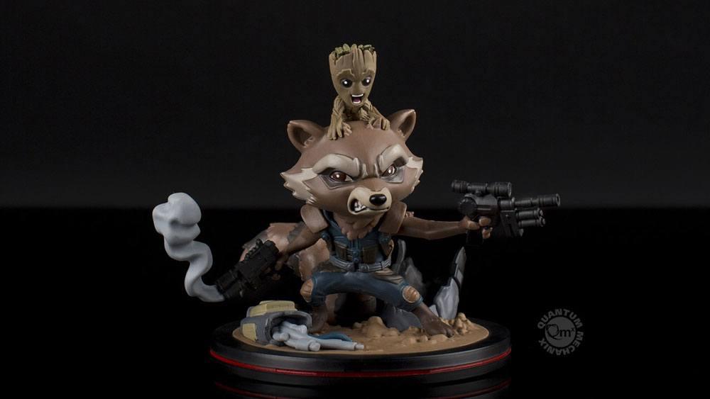 Guardians of the Galaxy Vol. 2 Q-Fig Figure Rocket & Groot 14 cm