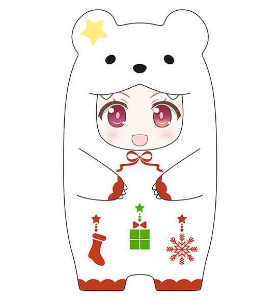 Nendoroid More Face Parts Case for Nendoroid Figures Christmas Polar Bear Ver.