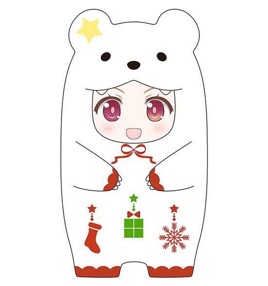 Nendoroid More Face Parts Case for Nendoroid Figures Christmas Polar Bear Ver.